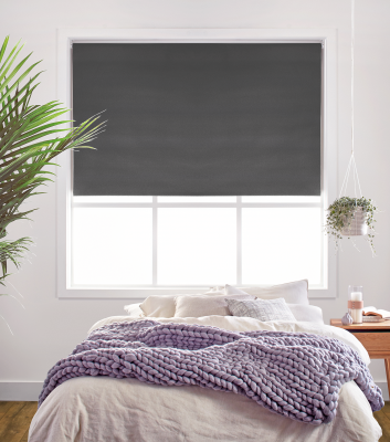 Charcoal Charm Roller Blind