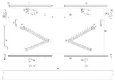 WIndoware Easy Fit Awning Part List