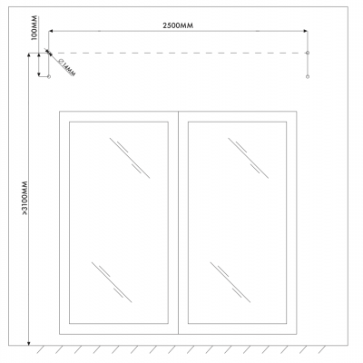 Windoware Easy fit Awning - 1